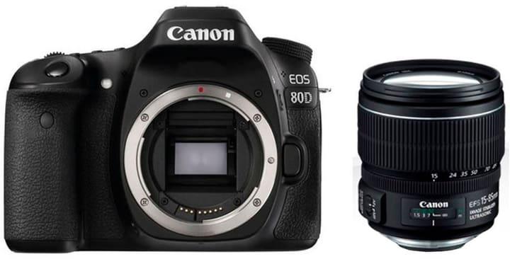 EOS 80D + EF-S 15-85mm IS USM Spiegelreflexkamera Kit Canon 785300126146 Bild Nr. 1