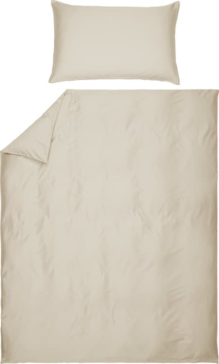 PENELOPE Taie d'oreiller en satin 451261110972 Couleur Beige Dimensions L: 100.0 cm x H: 65.0 cm Photo no. 1