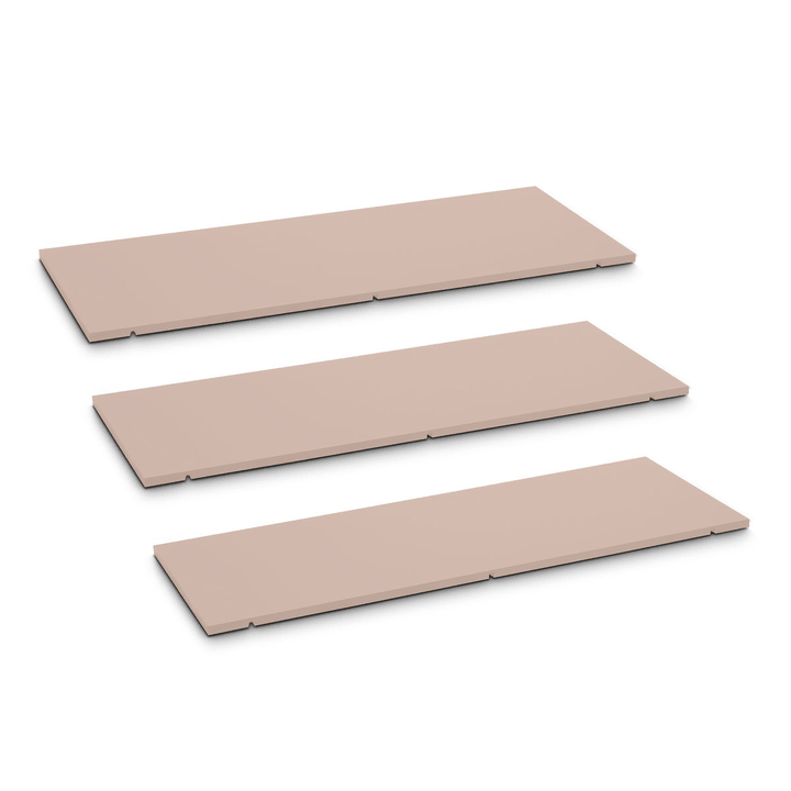 SEVEN Tablar 3er-Set 90cm 362019951104 Grösse B: 90.0 cm x T: 1.4 cm x H: 35.5 cm Farbe Rosa Bild Nr. 1