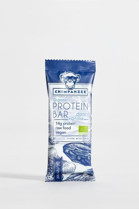 Chimpanzee Proteinbar Protein Riegel Chimpanzee 471984508100 Geschmack Dates & Vanilla Bild-Nr. 1
