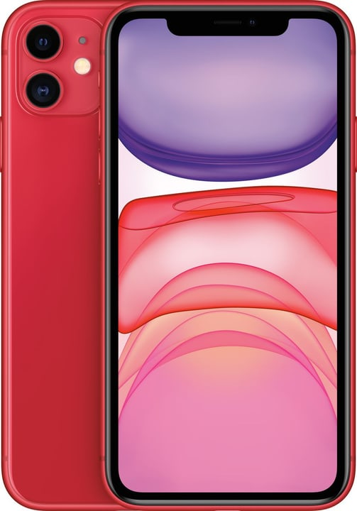 iPhone 11 64GB (PRODUCT) RED Smartphone Apple 794643800000 Couleur (PRODUCT)RED™ (Rot) Photo no. 1