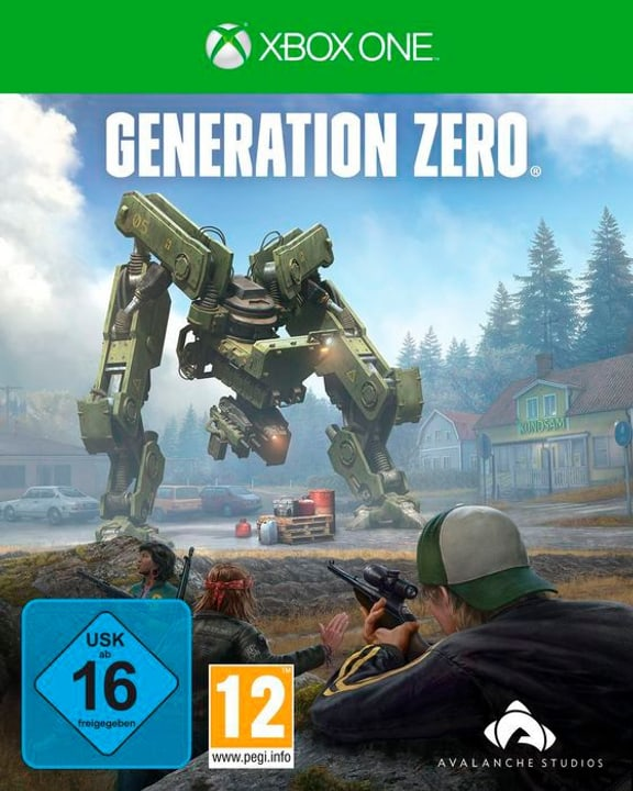 Xbox One - Generation Zero Box 785300141480 Langue Allemand Plate-forme Microsoft Xbox One Photo no. 1