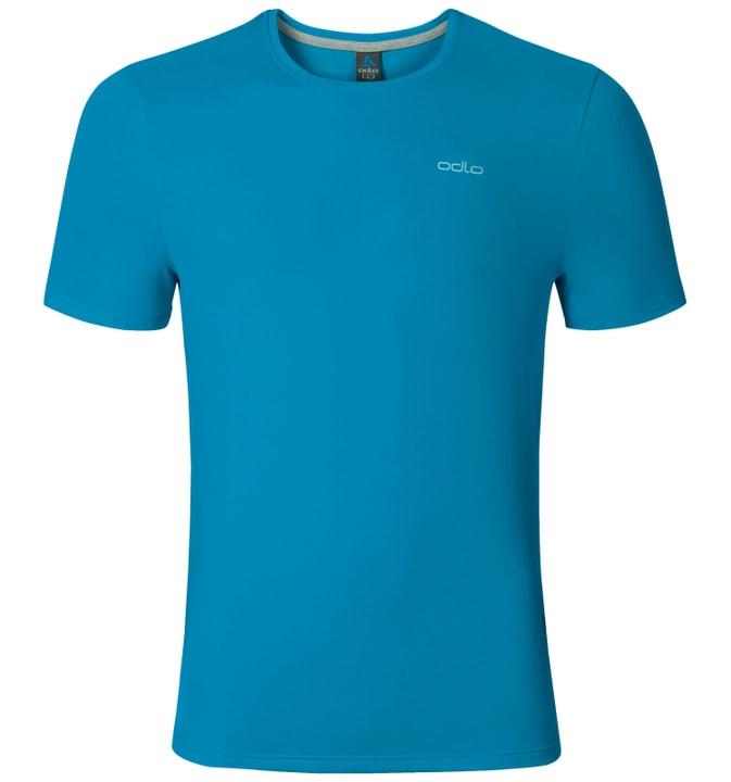 Silian T-Shirt s/s crew neck T-shirt hommes Odlo 477069400442 Couleur bleu azur Taille M Photo no. 1