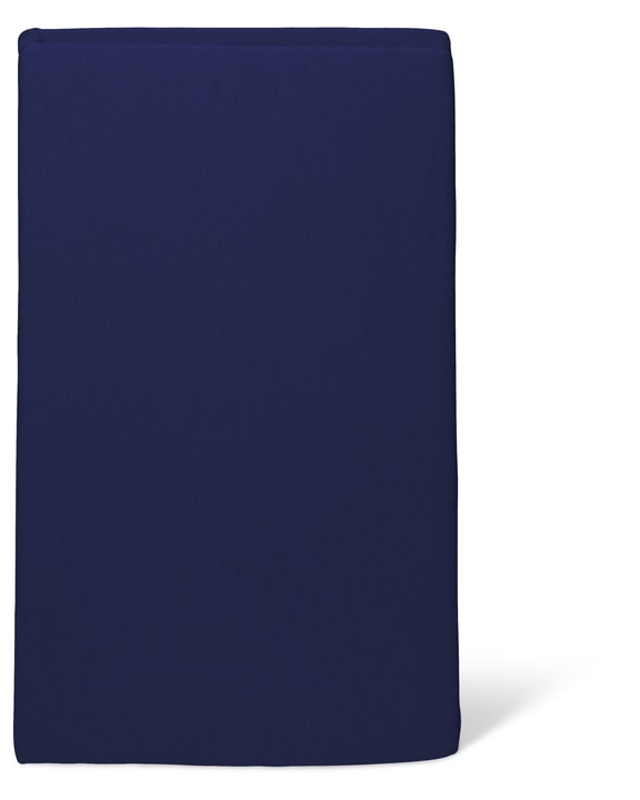 BEST PRICE Drap-housse en jersey 451037130443 Couleur Bleu Dimensions L: 160.0 cm x H: 200.0 cm Photo no. 1
