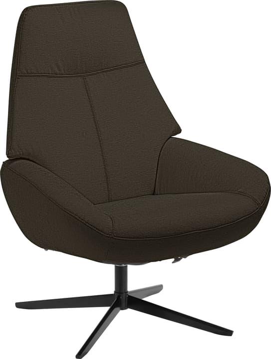ARNOLD Sessel 402453907073 Grösse B: 78.0 cm x T: 89.0 cm x H: 97.0 cm Farbe Dunkelbraun Bild Nr. 1