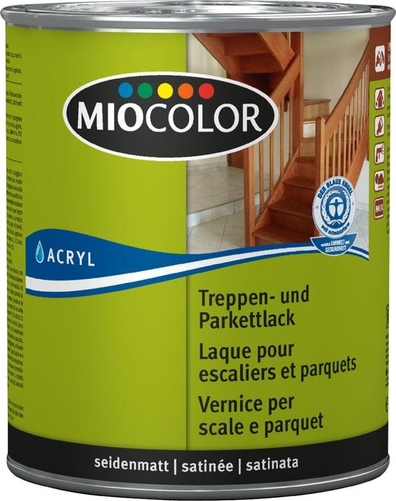 Treppen- und Parkettlack seidenmatt Farblos 750 ml Miocolor 661119100000 Farbe Farblos Inhalt 750.0 ml Bild Nr. 1