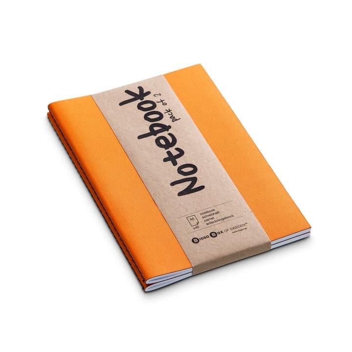NOTE Notizbuch 2 Stk. A5 386159500000 Farbe Orange Grösse B: 21.0 cm x T: 15.0 cm Bild Nr. 1