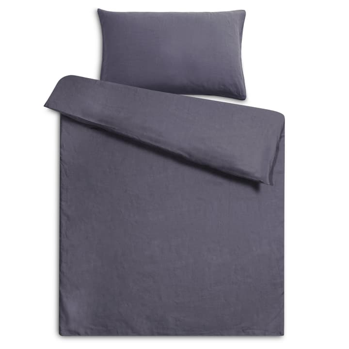 LINEN Federa per cuscino lino 376012883903 Colore Grigio Dimensioni L: 100.0 cm x L: 65.0 cm N. figura 1