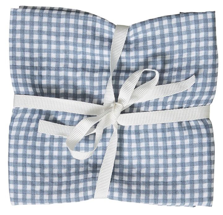 LENNY Serviettes bébé 451268716940 Couleur Bleu Dimensions L: 50.0 cm x H: 50.0 cm Photo no. 1