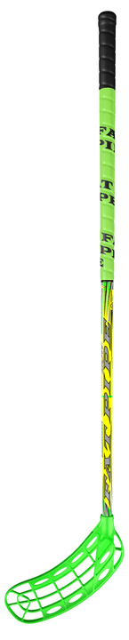 BOW 27 + ORC Blade Canne senior 101 cm Fat Pipe 492128015062 Couleur vert neon Longueur à droite Photo no. 1