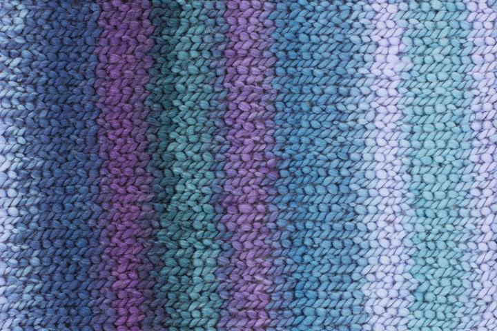 Laine Perla multicolor Gründl 665487000040 Couleur Bleu Photo no. 1