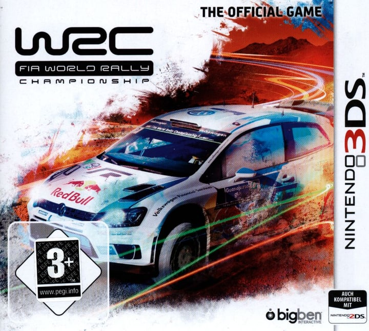 3DS - WRC Fia World Rally - Championship Box 785300121562 Photo no. 1