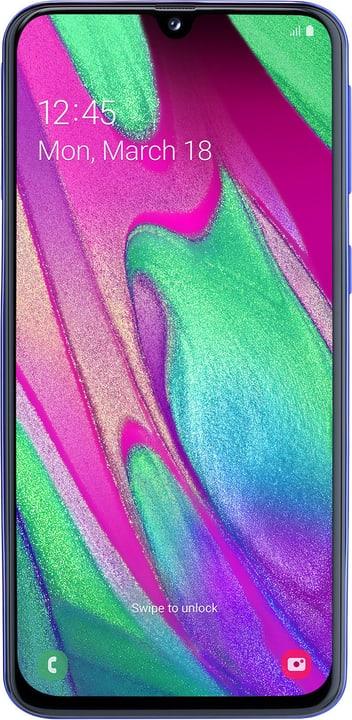 Galaxy A40 bleu Smartphone Samsung 785300143959 Photo no. 1