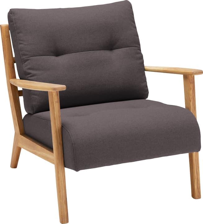 FAUST Sessel 402465200170 Farbe Braun Grösse B: 76.0 cm x T: 80.0 cm x H: 78.0 cm Bild Nr. 1