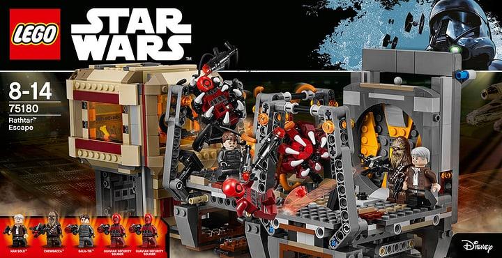 LEGO Star Wars Rathtar Escape 75180 748842900000 Bild Nr. 1