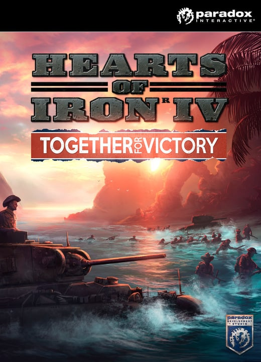 PC - Hearts of Iron IV - Together For Vict Download (ESD) 785300133386 N. figura 1