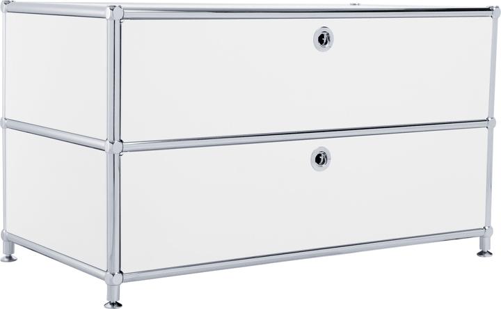 FLEXCUBE Buffet 401813610110 Dimensioni L: 77.0 cm x P: 40.0 cm x A: 44.5 cm Colore Bianco N. figura 1