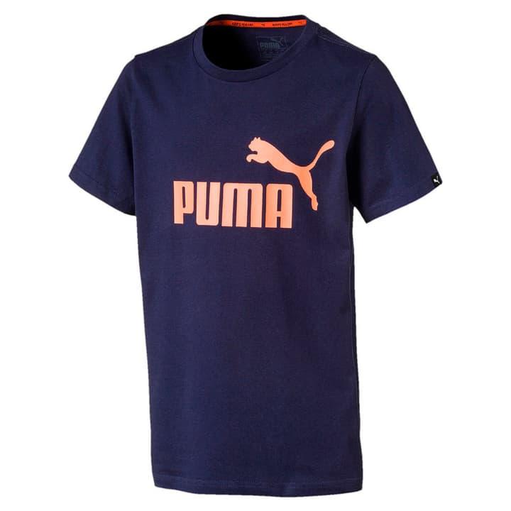 Ess No. 1 Tee T-shirt pour garçon Puma 464555812843 Couleur bleu marine Taille 128 Photo no. 1
