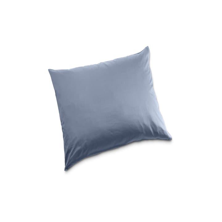 KOS Taie d'oreiller Satin 376026468902 Couleur Bleu rayé Dimensions L: 65.0 cm x L: 65.0 cm Photo no. 1