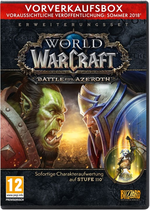 PC - World of Warcraft: Battle for Azeroth - Pre Sell Box (D) Box 785300132177 N. figura 1