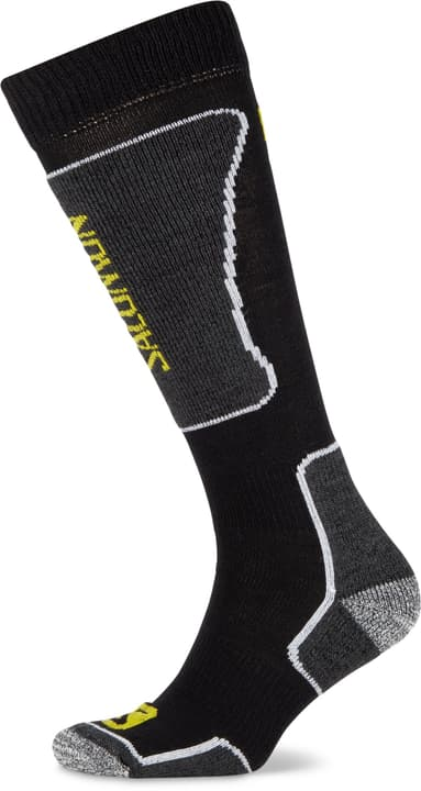 Ski Performance Sock Skisocken im Doppelpack Salomon 497152035120 Farbe schwarz Grösse 35-38 Bild-Nr. 1