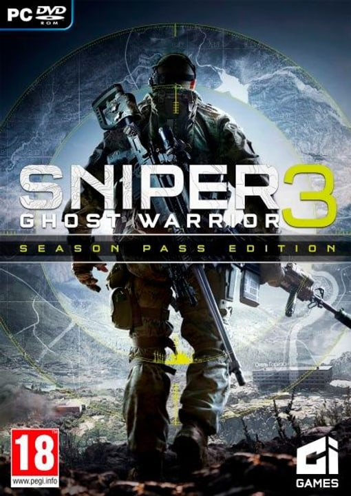 PC - Sniper Ghost Warrior 3 Season Pass Edition Box 785300121868 N. figura 1