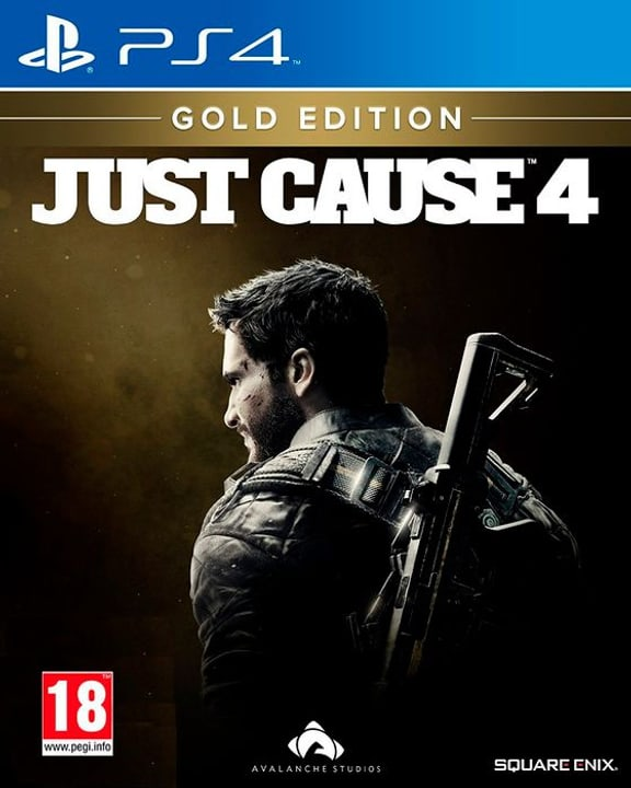 PS4 - Just Cause 4 Gold Edition (F) Box 785300137806 Langue Français Plate-forme Sony PlayStation 4 Photo no. 1
