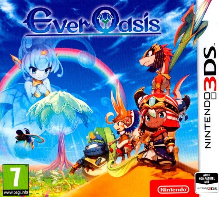 3DS - Ever Oasis (D) Box 785300122399 Bild Nr. 1