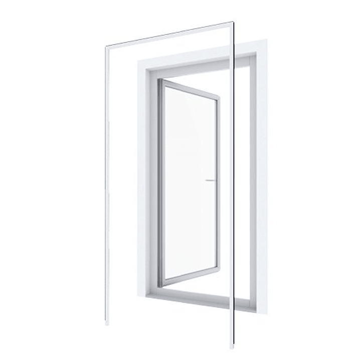 Huisseri porte battante Moustiquaire Windhager 631340800000 Photo no. 1