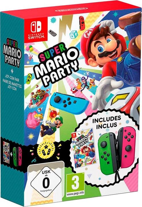 NSW - Super Mario Party + Joy-Con Set Box 785300138780 Bild Nr. 1