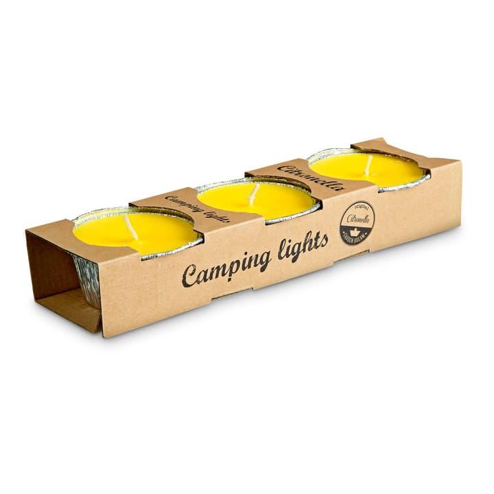 CAMPING LIGHTS Kerze gegen Insekten 390047900000 Farbe Gelb Grösse B: 8.0 cm x T: 8.0 cm x H: 3.5 cm Bild Nr. 1
