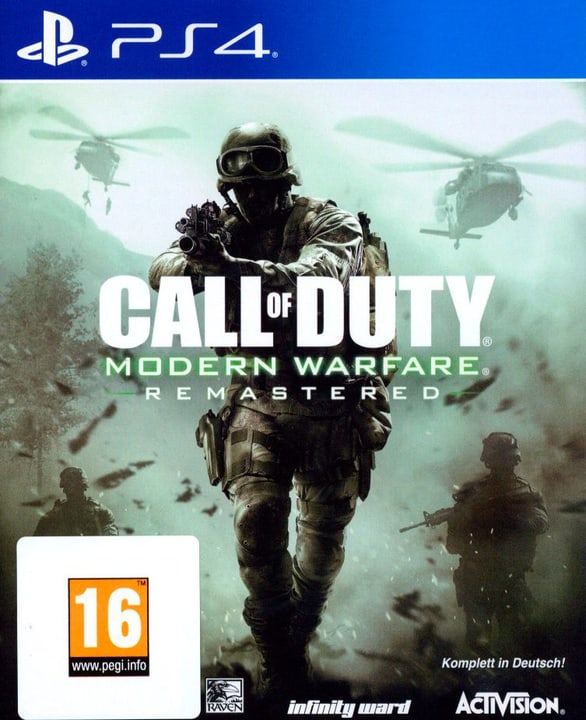 PS4 - Call of Duty: Modern Warfare Remastered Box 785300122550 N. figura 1