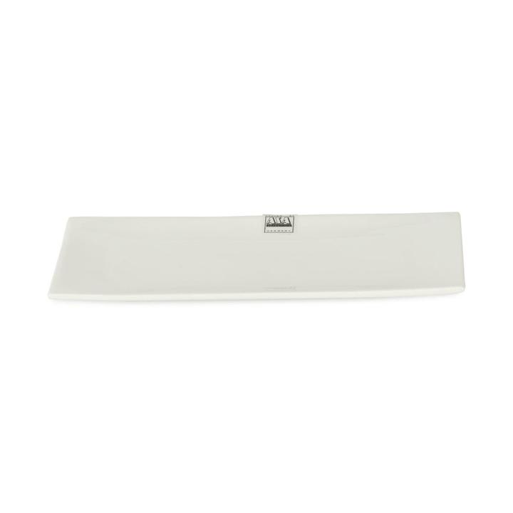 A TABLE Piatto rettangolare ASA 393003137501 Dimensioni L: 23.0 cm x P: 11.5 cm x A: 1.0 cm Colore Bianco N. figura 1
