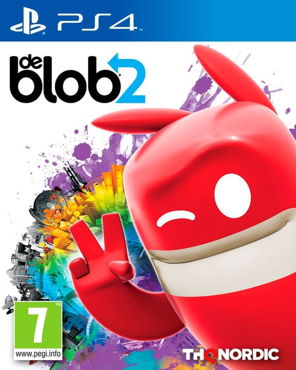 De Blob 2 [PS4] (F/I) 785300132061 Photo no. 1