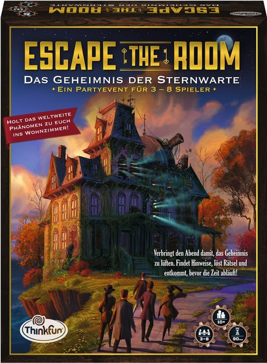 Escape the Room Das Geheimnis der Sternwarte (d) 748959190000 Bild Nr. 1