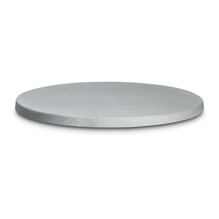 POLLY Assiette à bougie 396085200000 Dimensions L: 26.0 cm x P: 26.0 cm x H: 1.0 cm Couleur Gris clair Photo no. 1