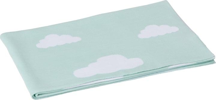 PEPA Couverture 451652943044 Couleur Turquoise Dimensions L: 90.0 cm x P: 100.0 cm Photo no. 1