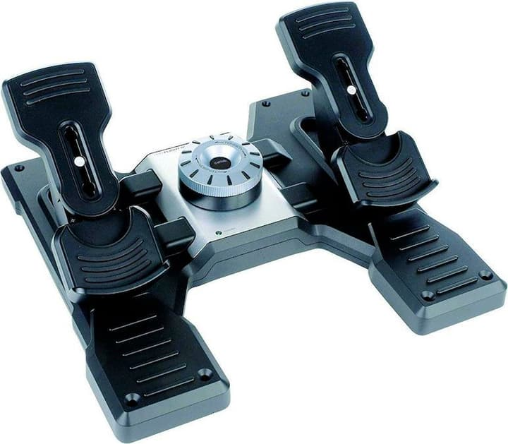 G Saitek Pro Flight Rudder Pedals Logitech 785300136883 Photo no. 1