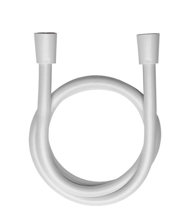 Flexible de douche 200cm blanc NIKLES 675152100000 Photo no. 1