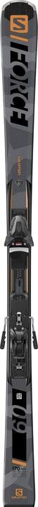 E S/Force 9 inkl. Z12 GW On Piste Ski inkl. Bindung Salomon 464309517080 Farbe grau Länge 170 Bild-Nr. 1