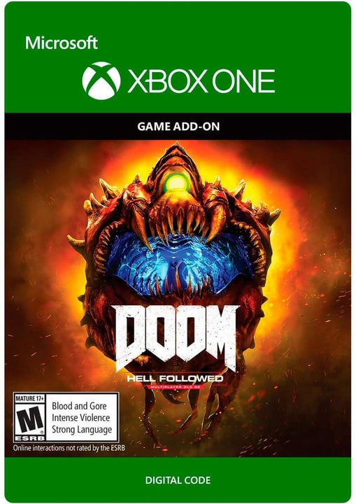Xbox One - Doom 4: Hell Followed Download (ESD) 785300137286 Bild Nr. 1