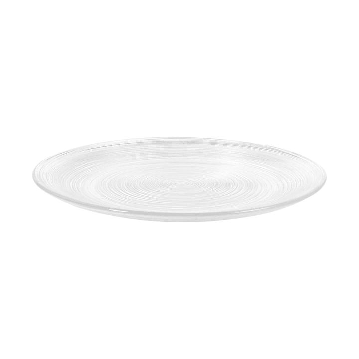 CIRCLE Piatto da dessert 393002286742 Dimensioni L: 21.0 cm x P: 21.0 cm x A: 1.3 cm Colore Trasparente N. figura 1