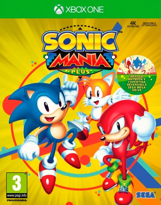 Xbox One - Sonic Mania Plus (I) Box 785300135197 N. figura 1