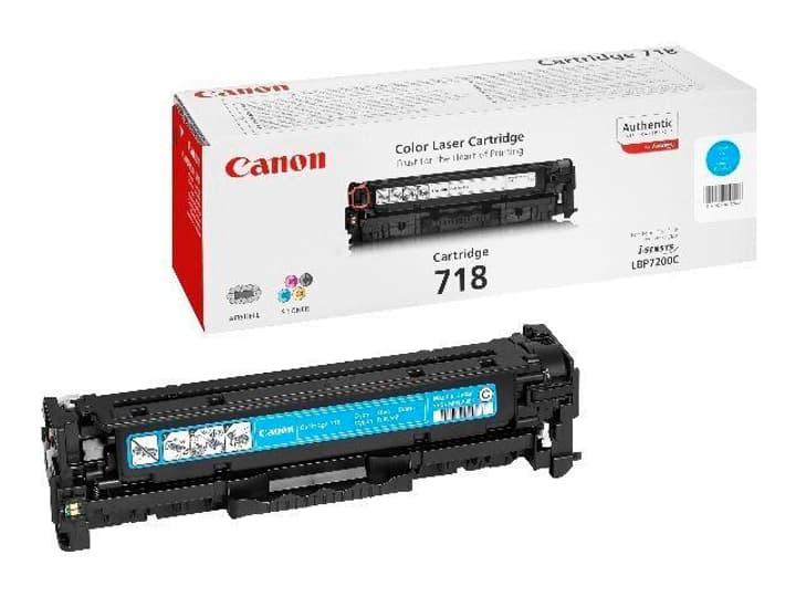 718 Toner-Modul cyan Canon 797550300000 Photo no. 1