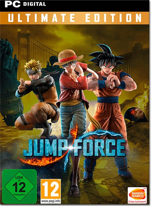 PC - Jump Force Ultimate Edition Download (ESD) 785300142277 N. figura 1