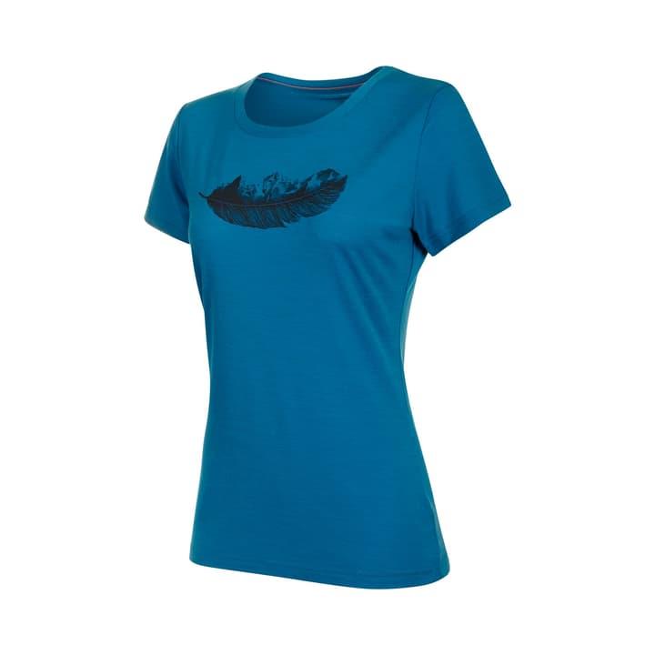 Alnasca Damen-Shirt Mammut 465735800540 Farbe blau Grösse L Bild-Nr. 1
