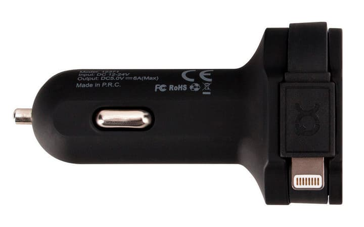 Car Charger Caricabatterie XQISIT 797960200000 N. figura 1
