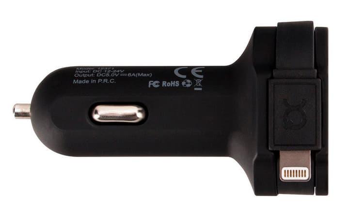 Car Charger schwarz Ladegerät XQISIT 797960200000 Bild Nr. 1