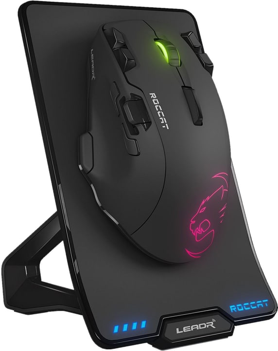 Leadr Wireless MultiButton RGB Gaming Mouse nero RGB Gaming Mouse ROCCAT 785300128268 N. figura 1