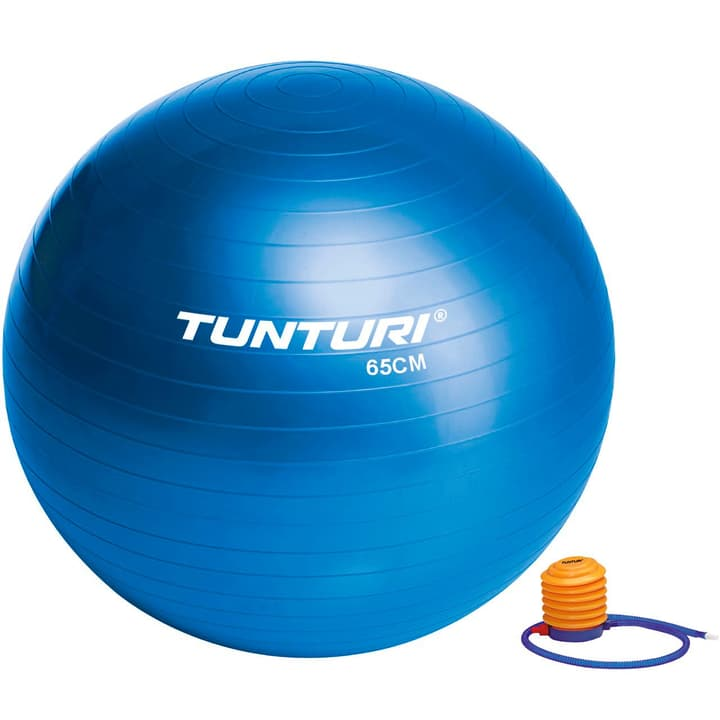 Gymnastikball D65cm blau Tunturi 463035400000 Bild-Nr. 1
